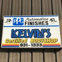 Kelvin's Auto Body logo