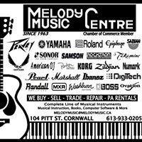 Melody Music Centre logo
