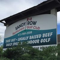 Sandy Row Golf Club logo
