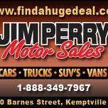 Jim Perry Motor Sales logo