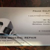 Frank's General Repair logo