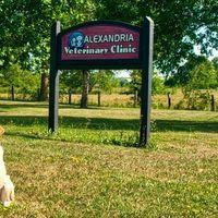 Alexandria Veterinary Clinic logo