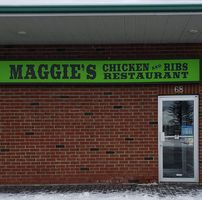 Maggie's Chicken And Ribs logo