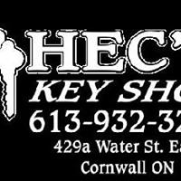 Hec's Key Shop logo