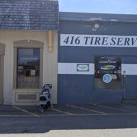 416 Tire Service logo