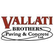 Vallati Brothers Paving & Concrete logo