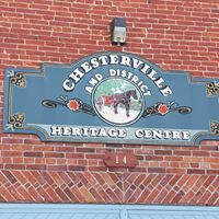 Chesterville & District Historical Society logo