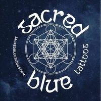 Sacred Blue Tattoos logo