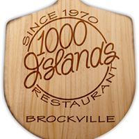 1000 Islands Restaurant & Pizzeria logo