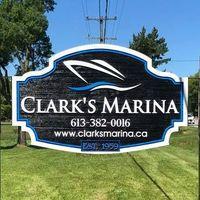 Clark's Marina logo