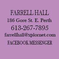 Farrell Hall logo