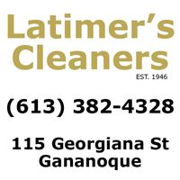 Latimer's Cleaners logo