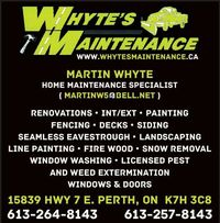 Whyte's Maintenance logo