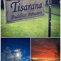 Tisarana Buddhist Monastery logo