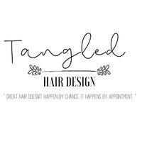 Tangled Hair Design logo