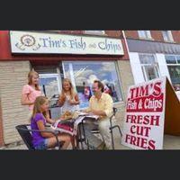Tim's Fish & Chips logo