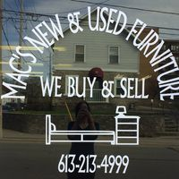 Mac's New & Used Furniture logo