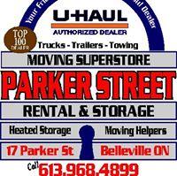Parker Street Rental & Storage logo