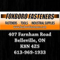Foxboro Fasteners logo