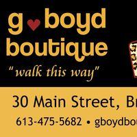 G Boyd Boutique logo