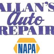 Allan's Auto Repair logo