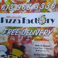 Westside Pizza Factory logo