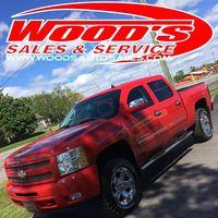 Wood's Sales & Service logo