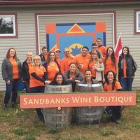 Sandbanks Estate Winery logo