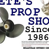 Pete's Prop Shop logo