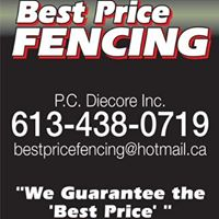 Best Price Fencing logo