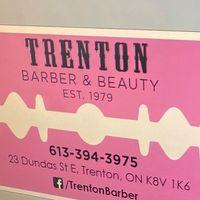 Trenton Barber & Beauty logo