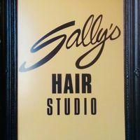 Sally's Hair Studio logo