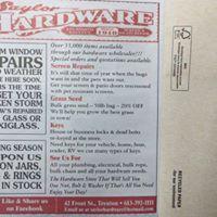 Saylor Hardware logo