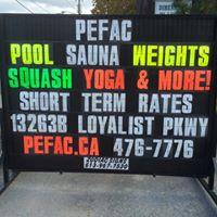 Prince Edward Fitness & Aquatic Centre logo