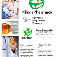 Village Pharmacy logo