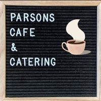 Parsons Café & Catering logo