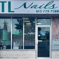 TL Nails & Spa logo