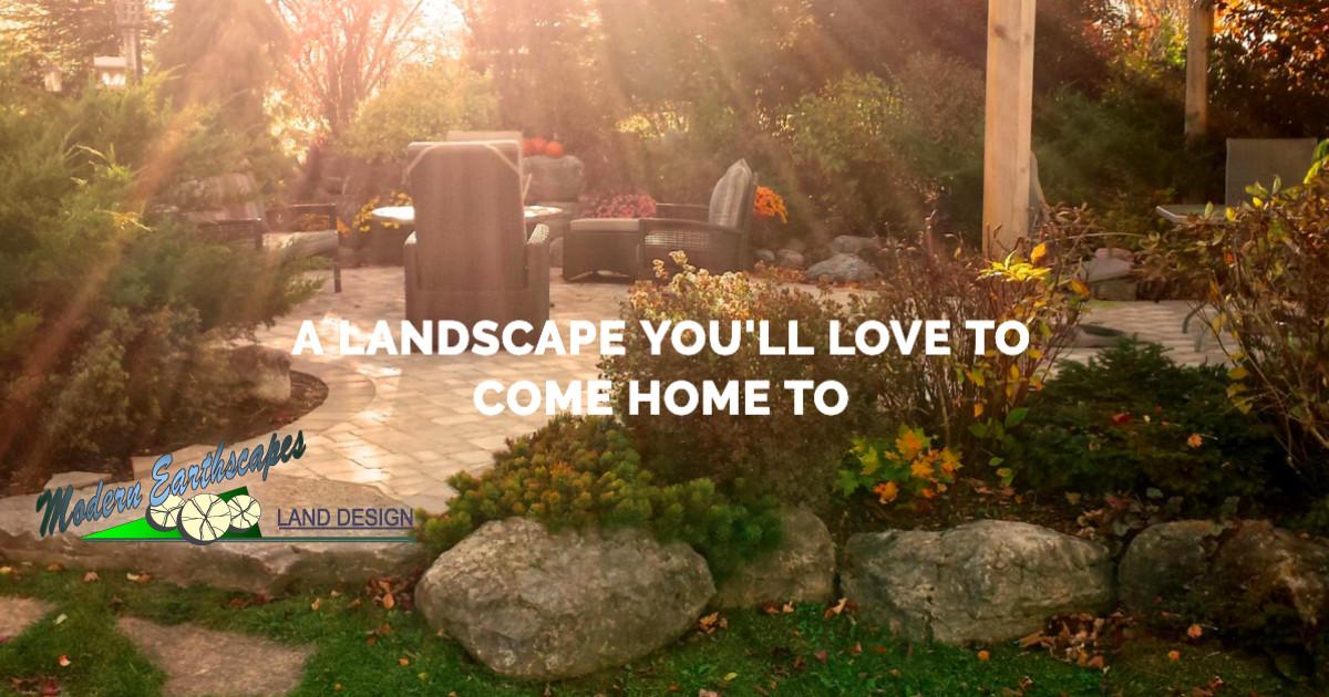 Modern Earthscapes Land Design logo
