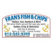 Fran's Chip Shop logo