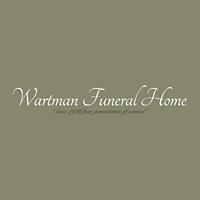 Wartman Funeral Home logo
