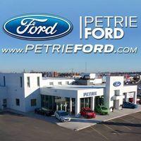 Petrie Ford logo