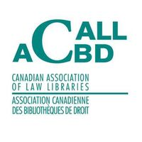 Canadian Association Of Law Libraries logo