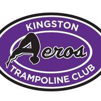Kingston Aeros Trampoline Club logo