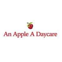 An Apple A Daycare logo