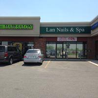 Lan Nail & Spa logo