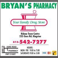 Bryan's Pharmacy logo