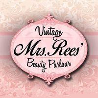Mrs Rees' Vintage Beauty Parlour logo