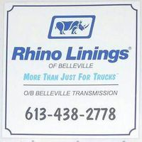 Rhino Linings of Belleville logo