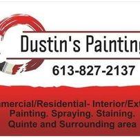Dustin's Painting logo