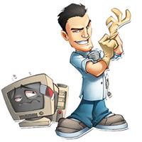 Dr Jim's Computer Repair logo